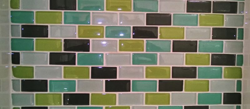 Accent Glass Wall